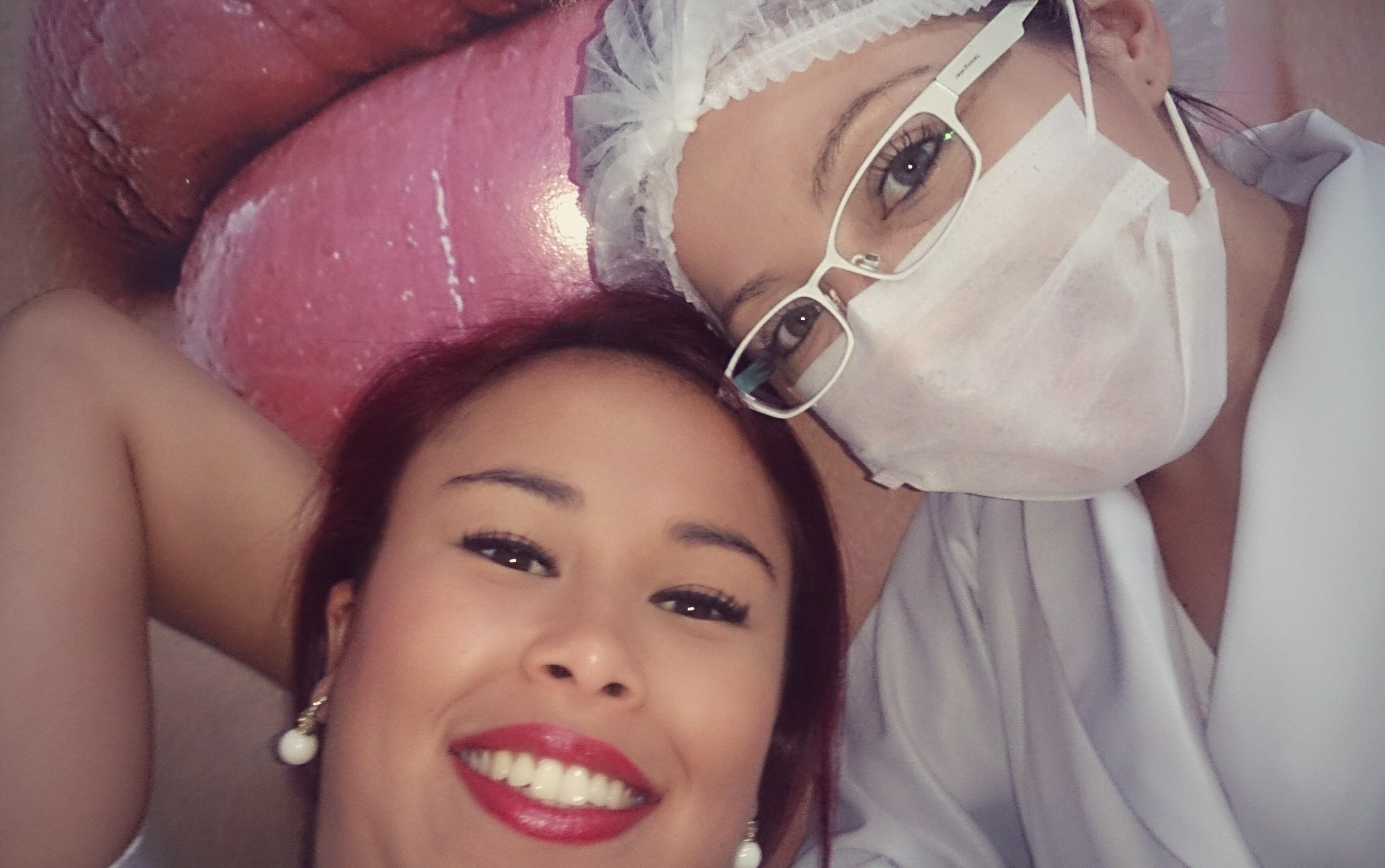 Cliente satisfeita  Tratamento de estrias! esteticista cosmetólogo(a)