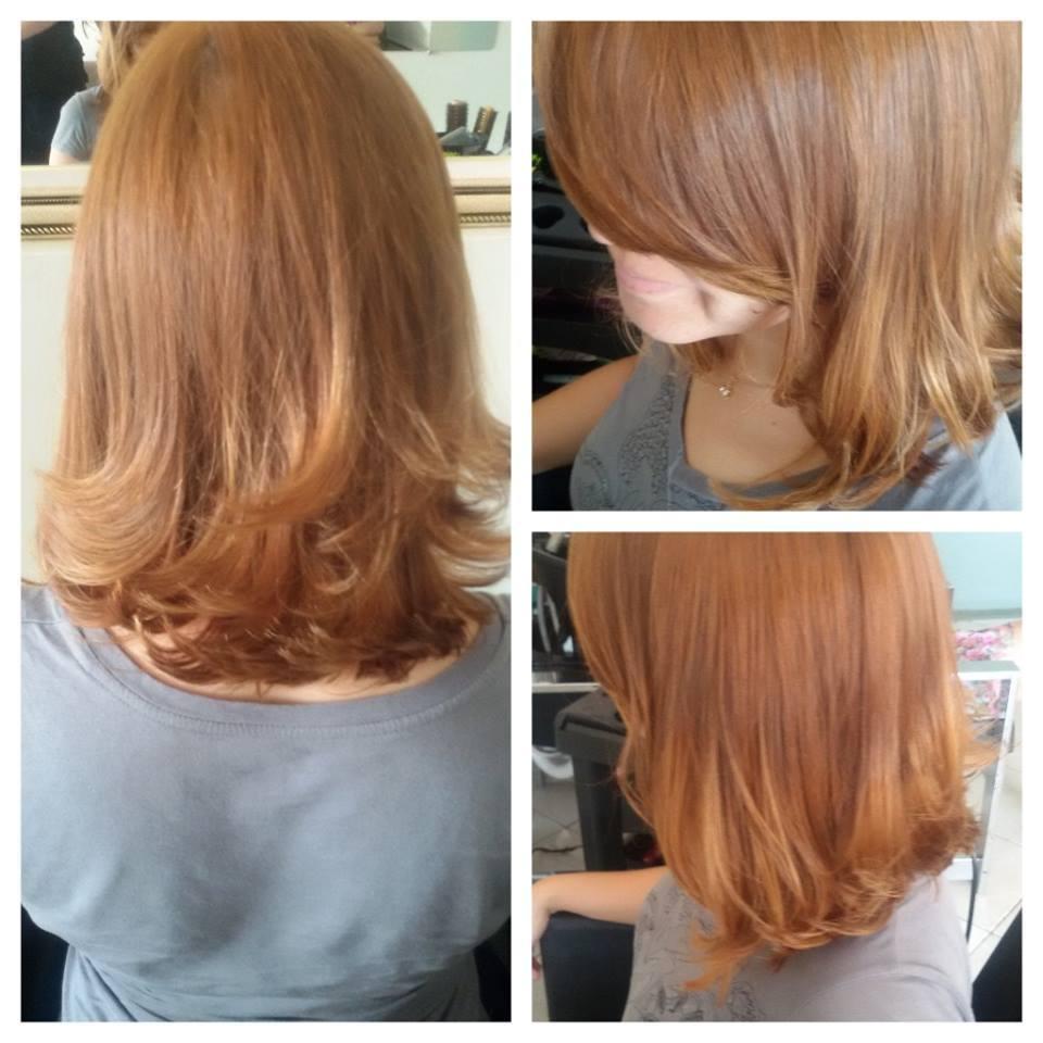 corte corte chanel  de bico com camadas desfiadas cabelo maquiador(a) cabeleireiro(a) designer de sobrancelhas auxiliar cabeleireiro(a)