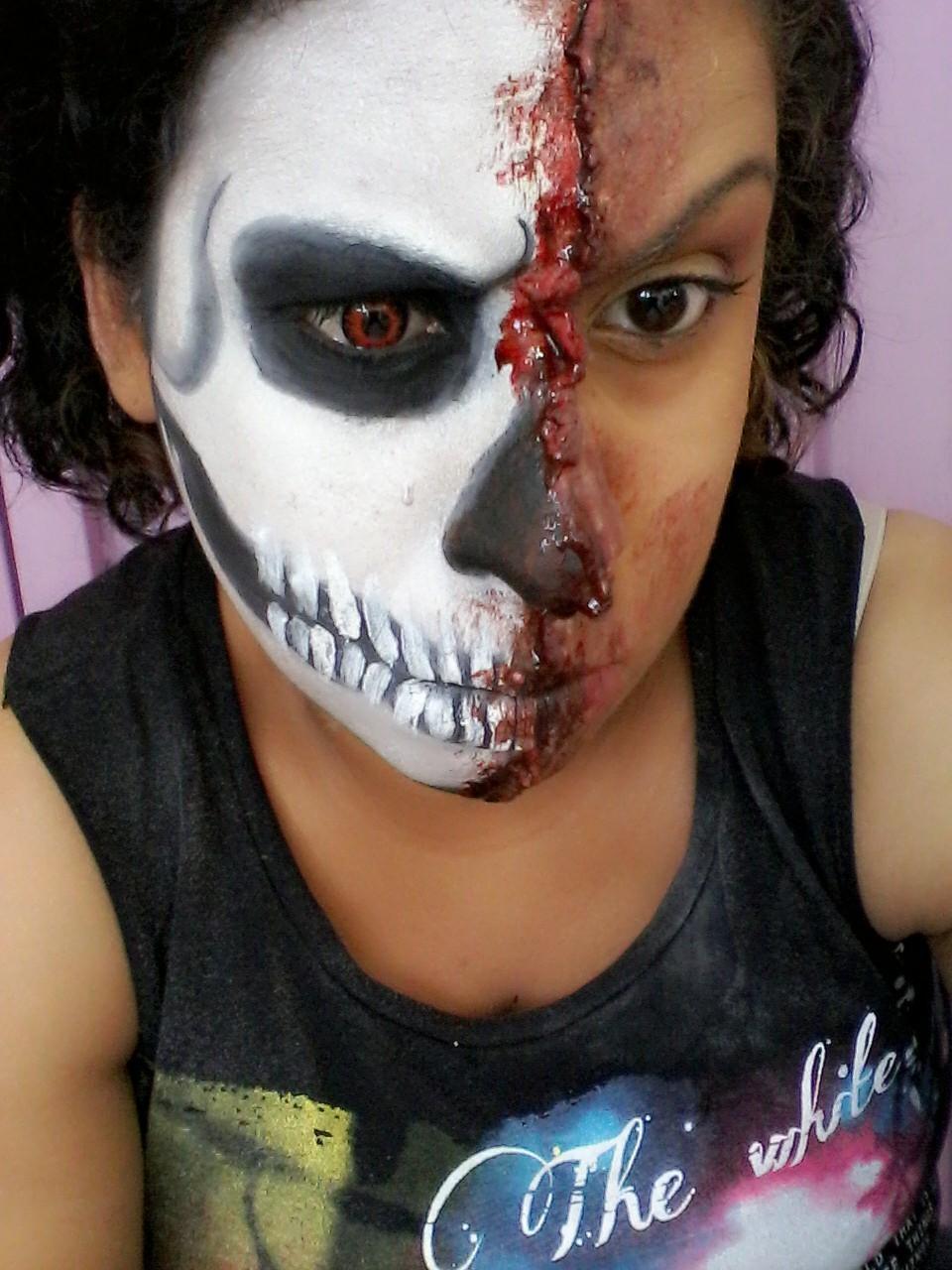 TERROR maquiagem esteticista maquiador(a) estudante (cabeleireiro)