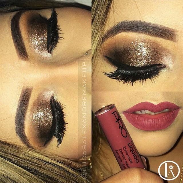 Makeup  batom matte   maquiador(a)