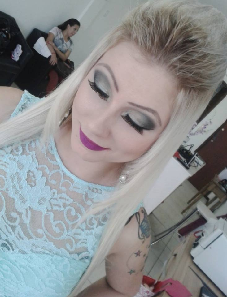 make up tons de verde. maquiagem maquiador(a)