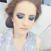 make up blue + black ♥