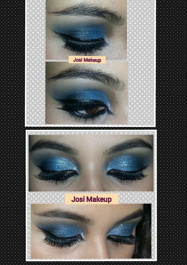 azul maquiagem  maquiador(a)