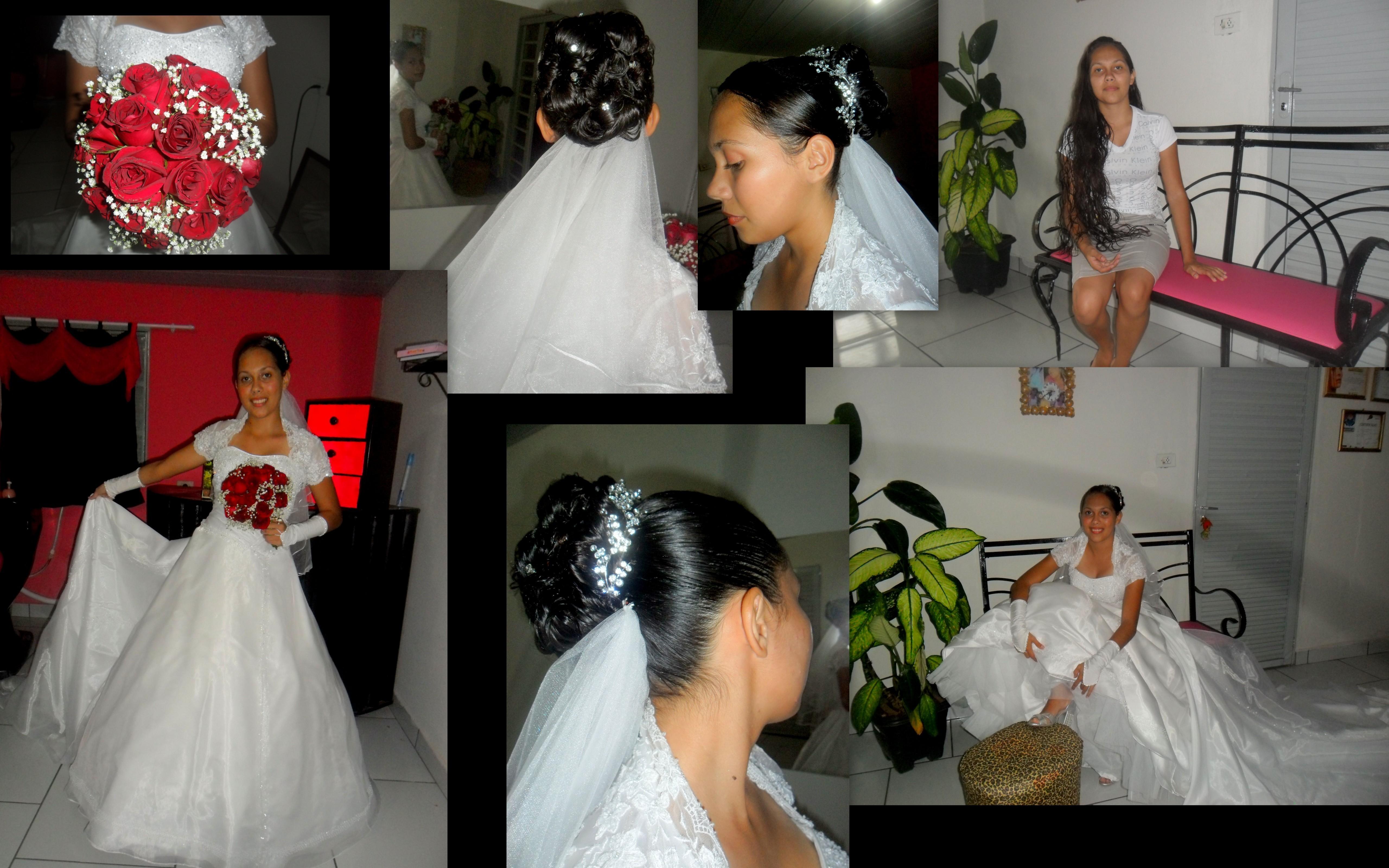 Um dos meus trabalhos cabeleireiro(a)