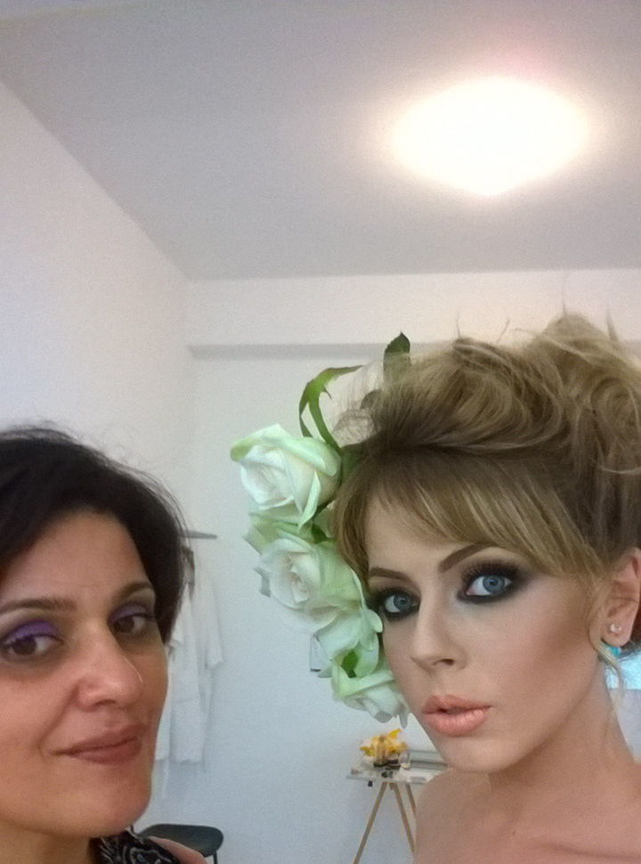trabalho com Denise Martins maquiadora maquiador(a)
