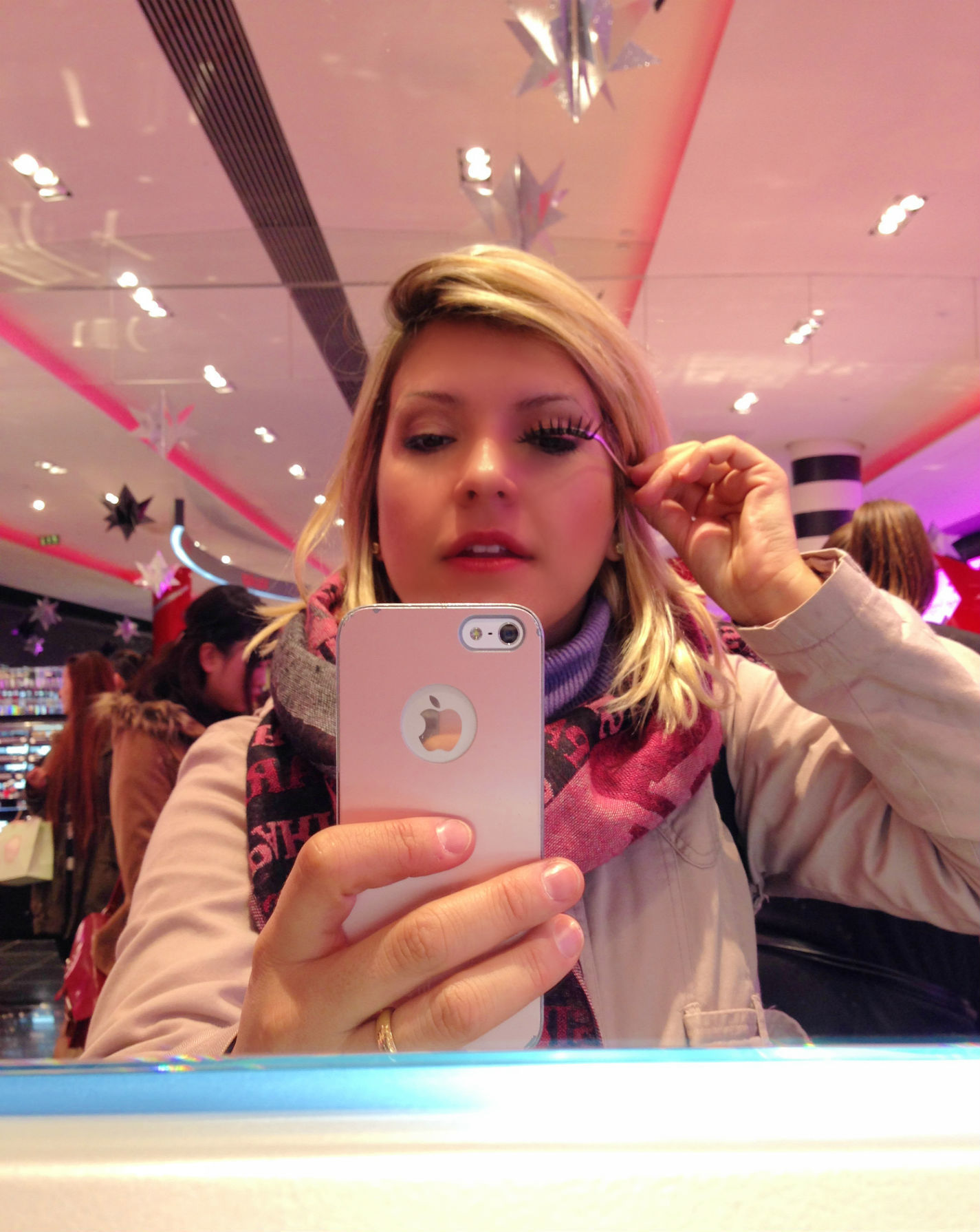 Myself in Sephora - Av. Champs Élysées, Paris