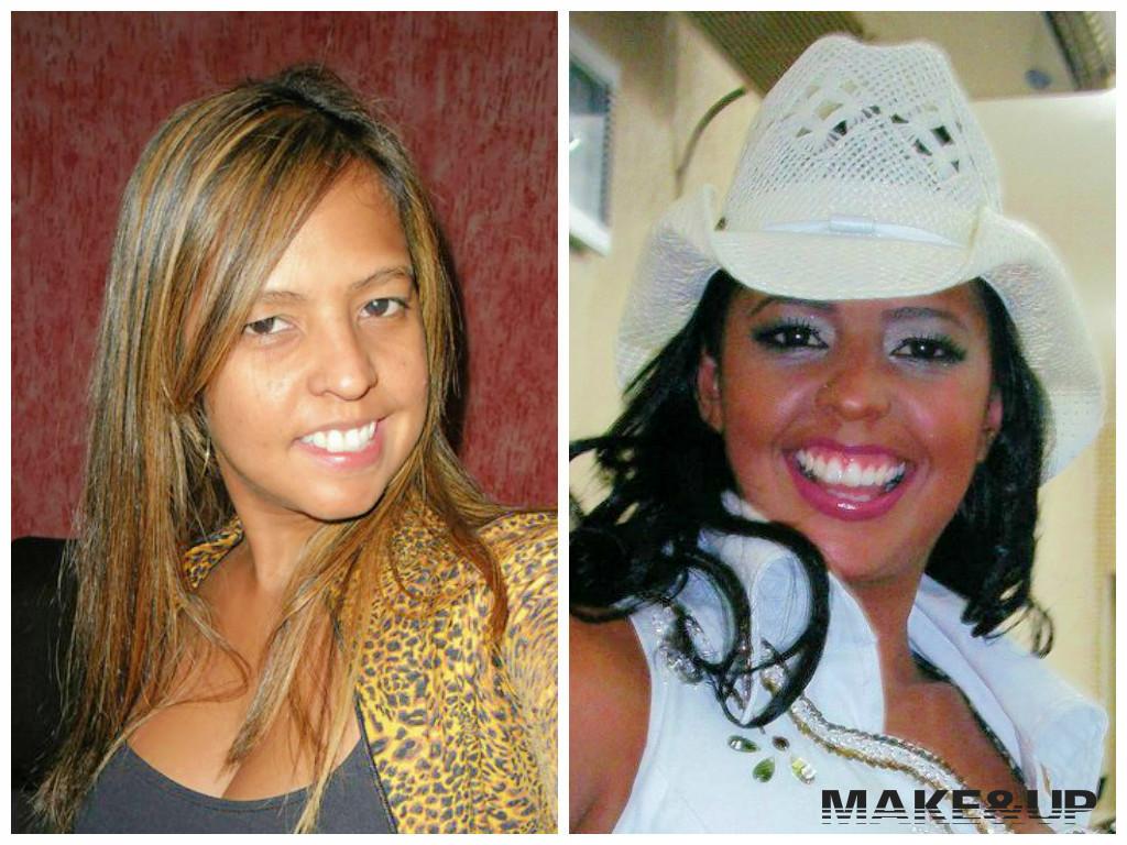 Antes e Depois de Graciela Nunes Em 1997, fui vencedora do concurso Rainha do Rodeio de Itapecerica da Serra, onde a cliente Graciela tbm havia participado, porém não ficou em nenhum lugar. Após esta tentativa, ela insistiu mais 3 vezes, não obtendo sucesso. Em 2008, tentaria novamente e foi quando ela me procurou. Resultado: Com a minha consultoria de imagem e maquiagem, ela se classificou em terceiro lugar.