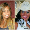 Antes e Depois de Graciela NunesEm 1997, fui vencedora do concurso Rainha do Rodeio de Itapecerica da Serra, onde a cliente Graciela tbm havia participado, porém não ficou em nenhum lugar. Após esta tentativa, ela insistiu mais 3 vezes, não obtendo sucesso. Em 2008, tentaria novamente e foi quando ela me procurou. Resultado: Com a minha consultoria de imagem e maquiagem, ela se classificou em terceiro lugar.