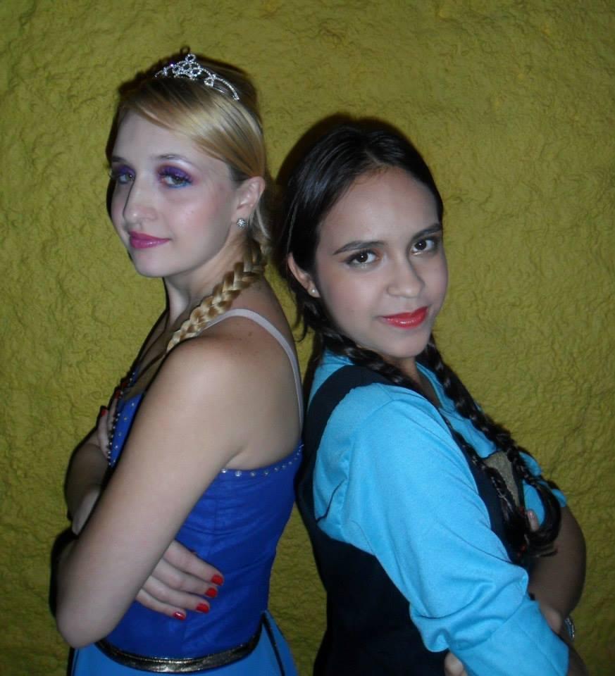 Make baseado no filme Frozen Elza e Ana. maquiador(a) depilador(a) designer de sobrancelhas outros