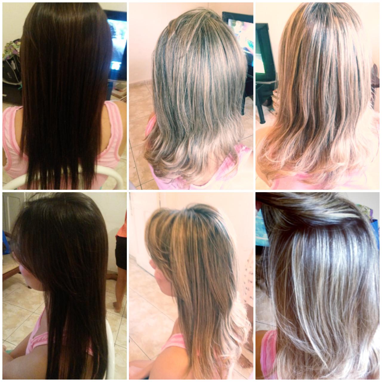 Mechas!! cabelo cabeleireiro(a)