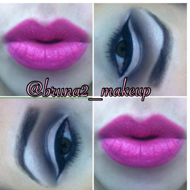 batom rosa  maquiagem