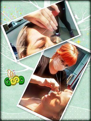 Sobrancelha com depilação egípcia.  auxiliar cabeleireiro(a) maquiador(a) designer de sobrancelhas massoterapeuta esteticista