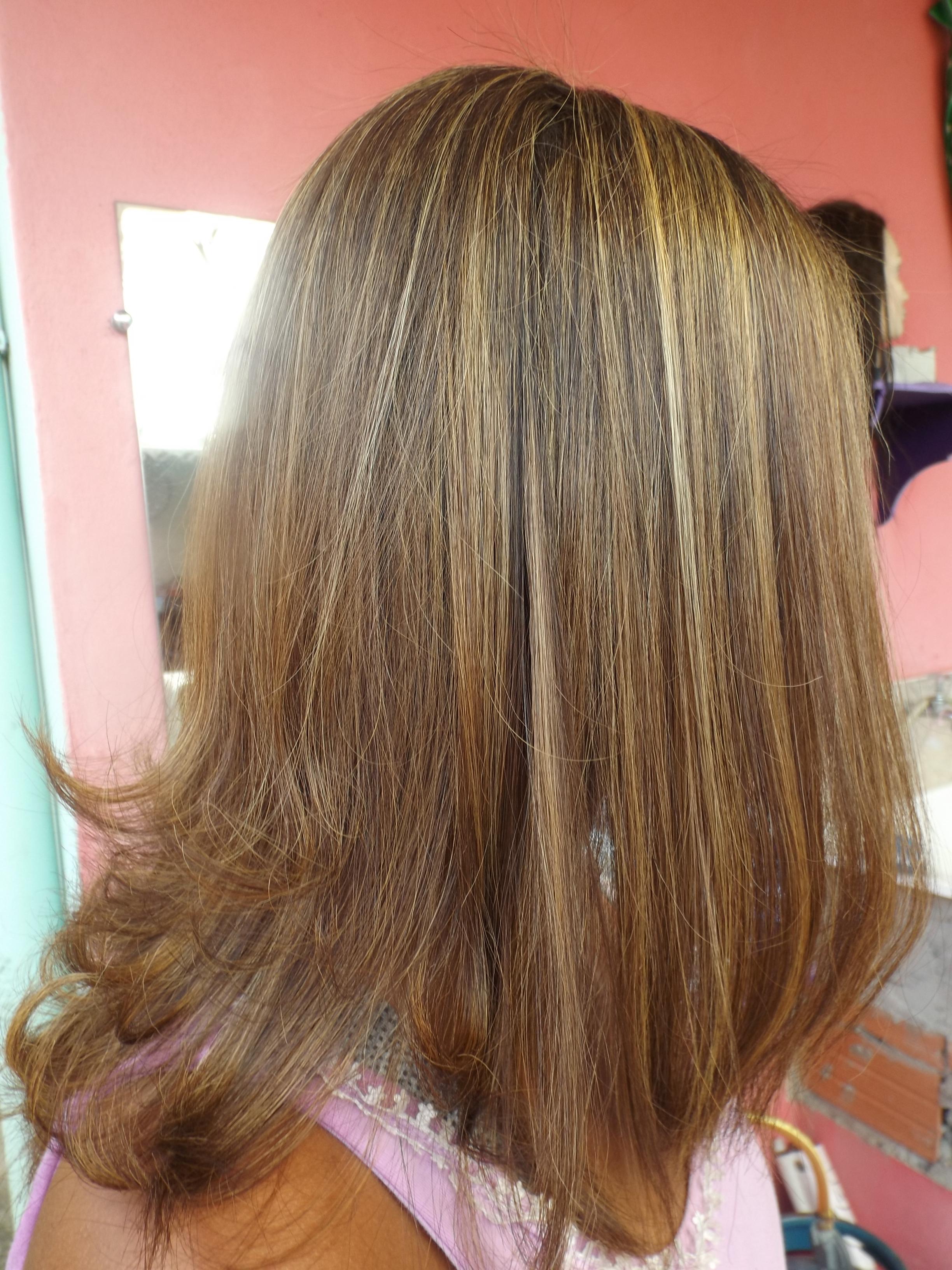 Luzes Mel cabeleireiro(a) visagista estudante