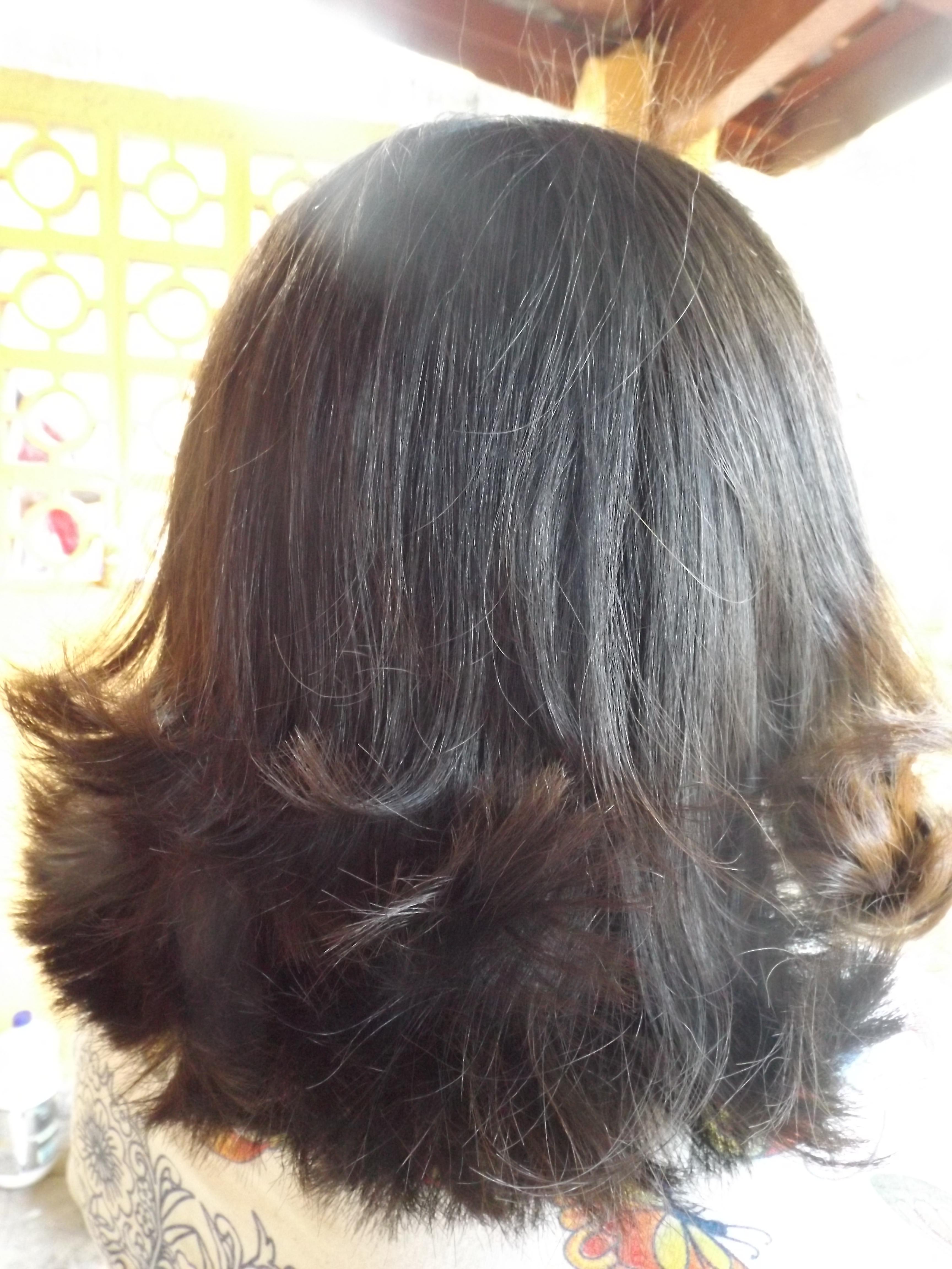 Corte cabeleireiro(a) visagista estudante