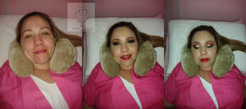 Cliente Regina. Make social. maquiador(a) docente / professor(a) designer de sobrancelhas manicure e pedicure esteticista