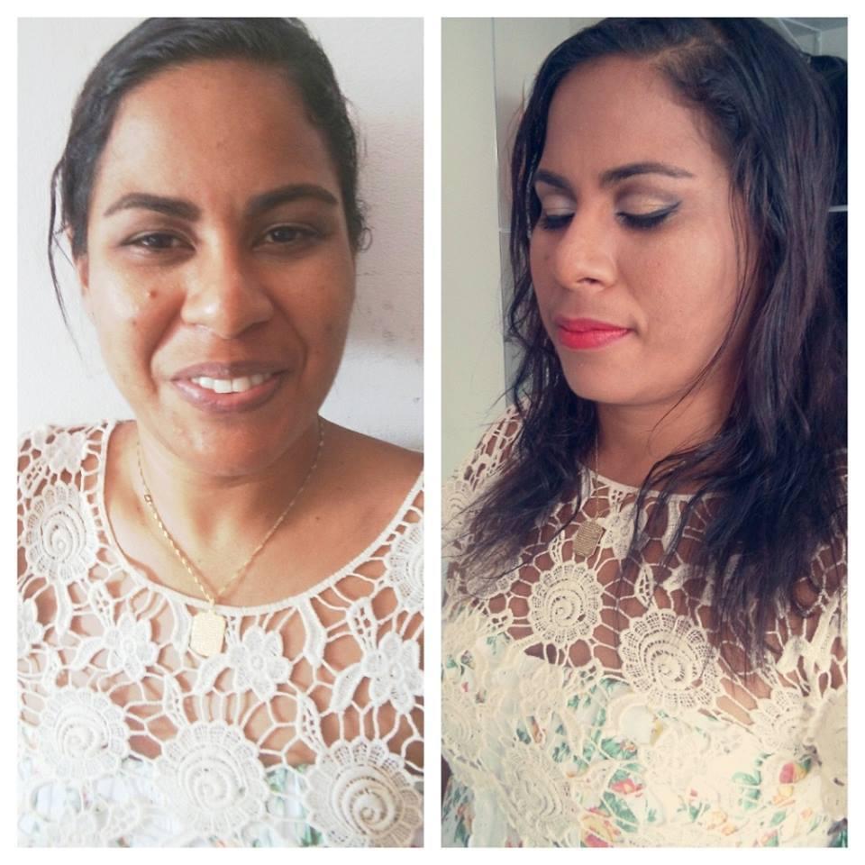 #Antes e #Depois maquiador(a)
