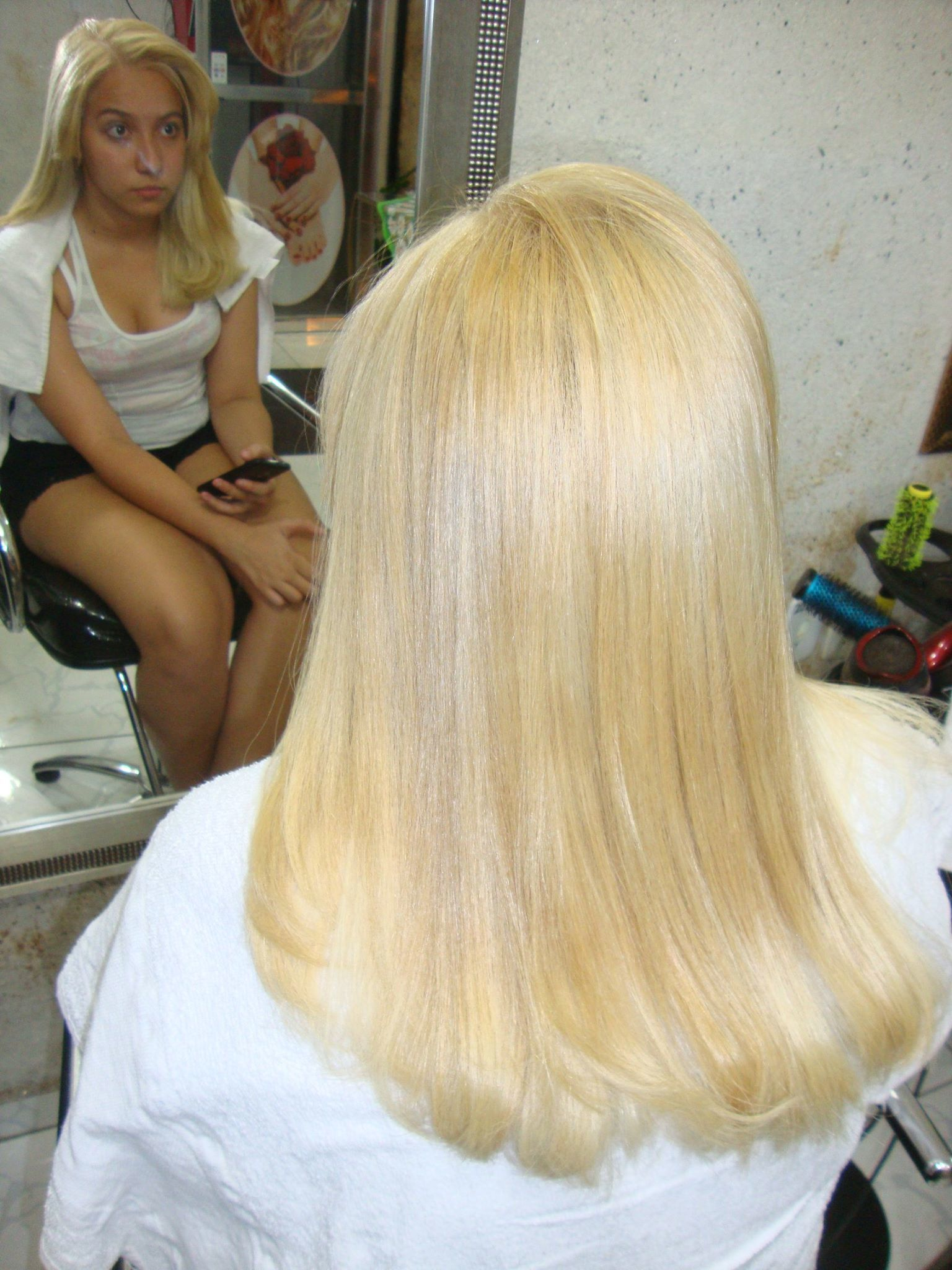meus trabalhos cabelo da ISABELA DEPOIS