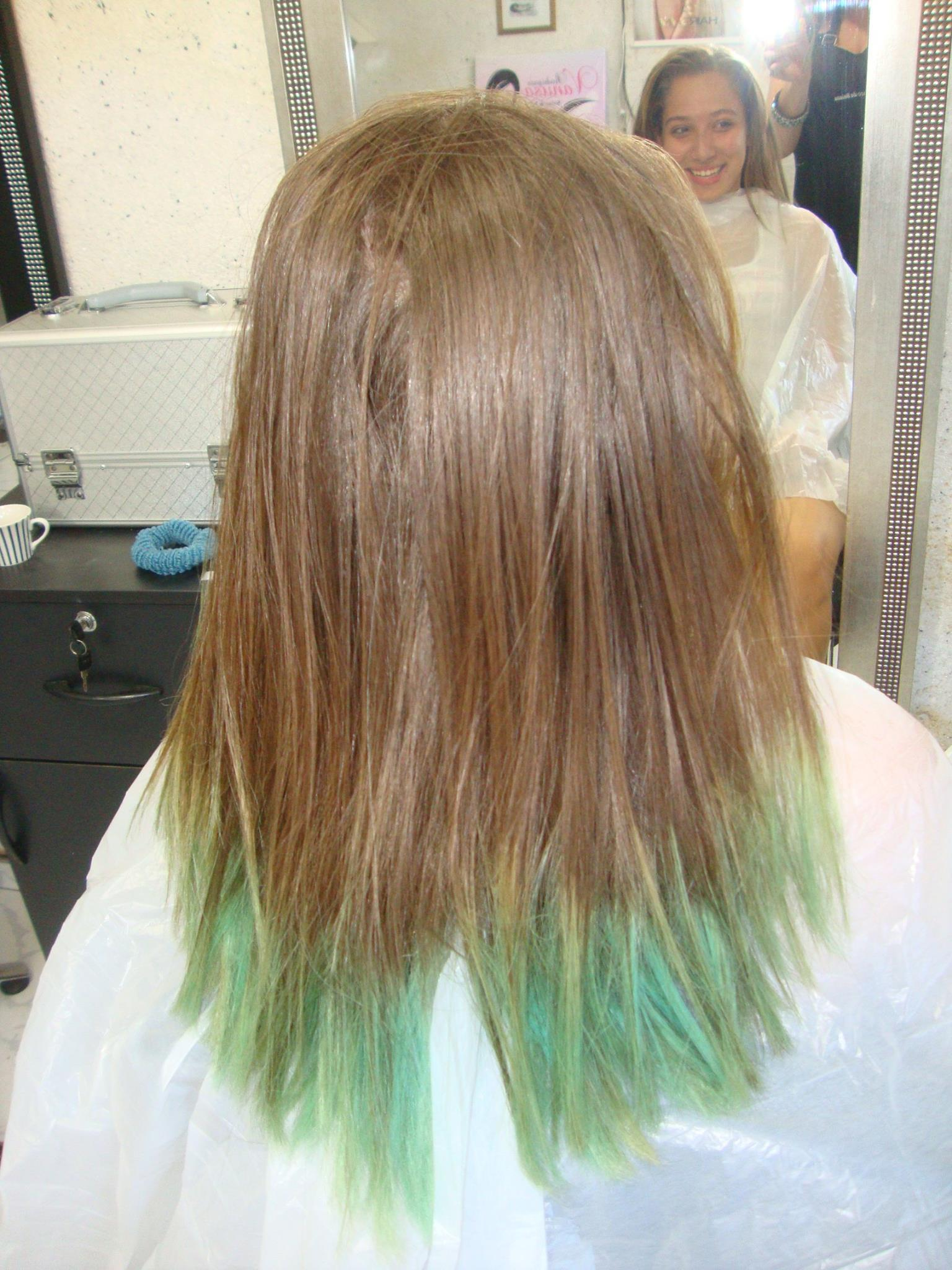 cabelo da ISABELA antes