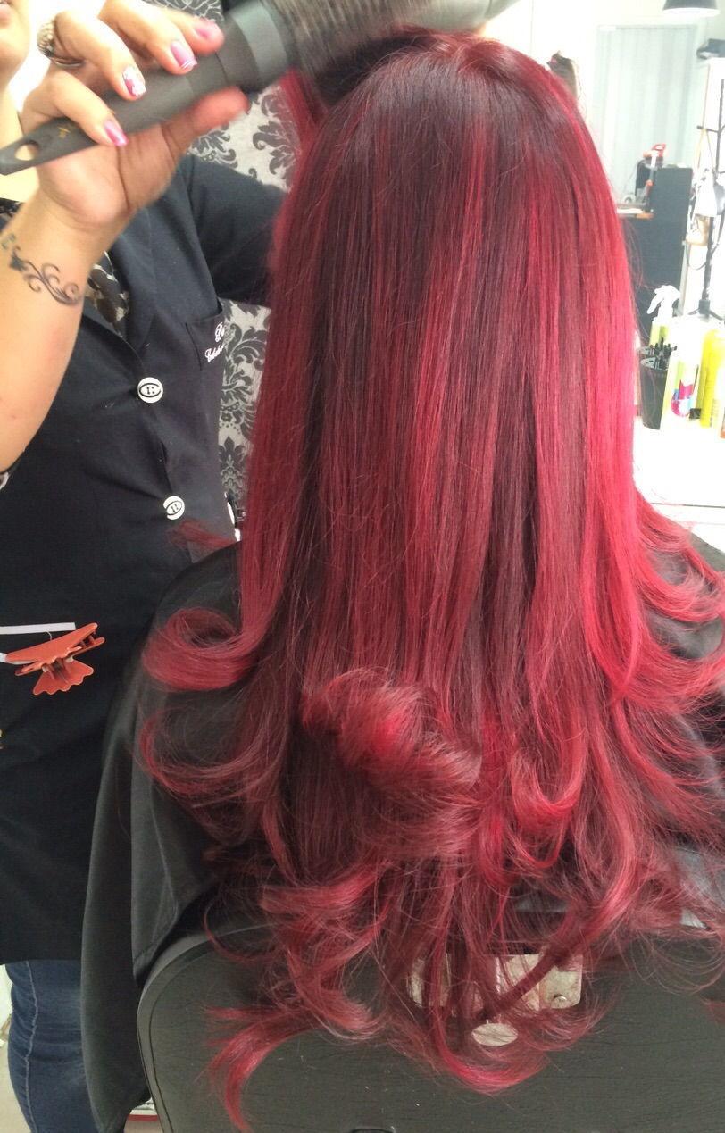 cor cabelo cabeleireiro(a) maquiador(a)