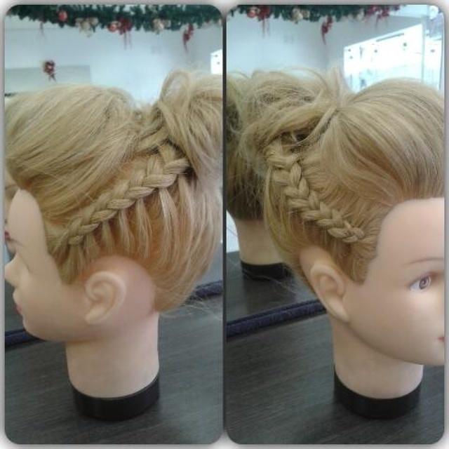 Penteado Teste de noiva cabeleireiro(a)