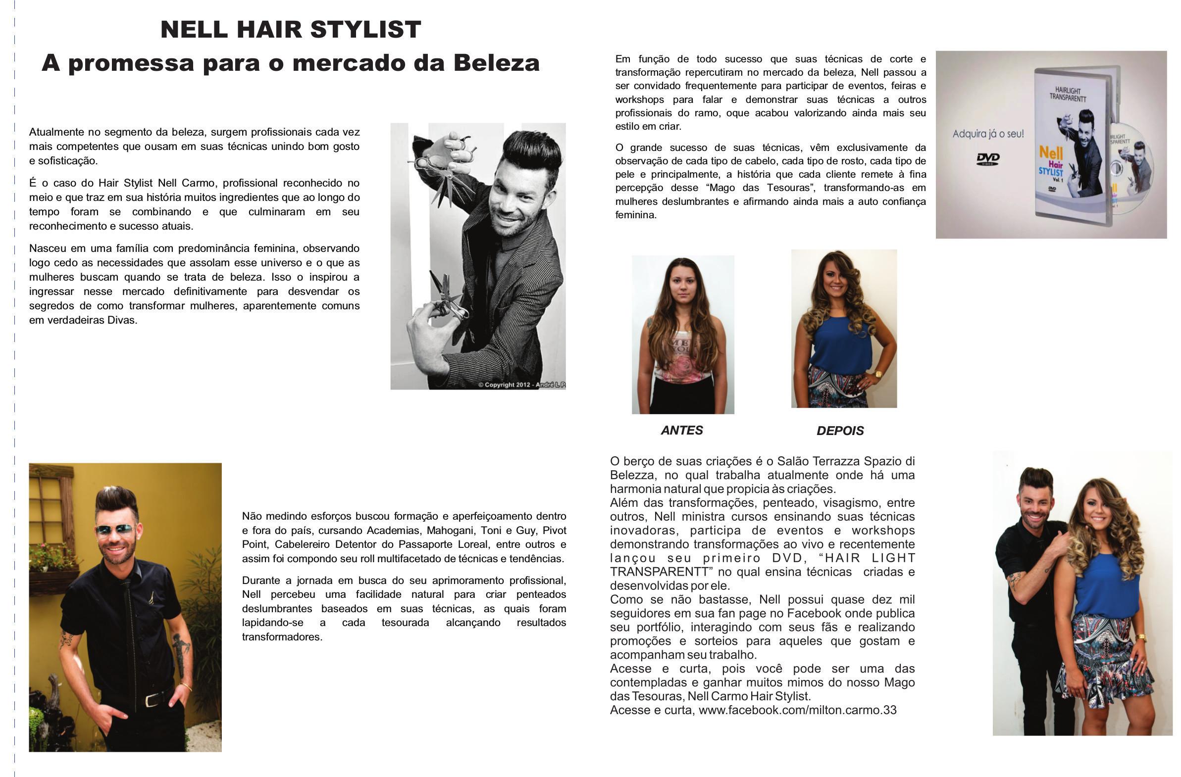 Nell Carmo Hair Stylist  cabeleireiro(a)