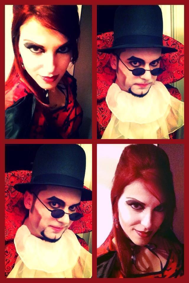 Maquiagem Artística Vampiros cosmetólogo(a)