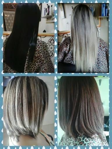 Alguns trabalhos finalizados.. cabeleireiro(a)