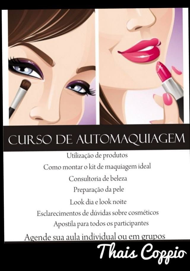 Cursos de Maquiagem cosmetólogo(a)