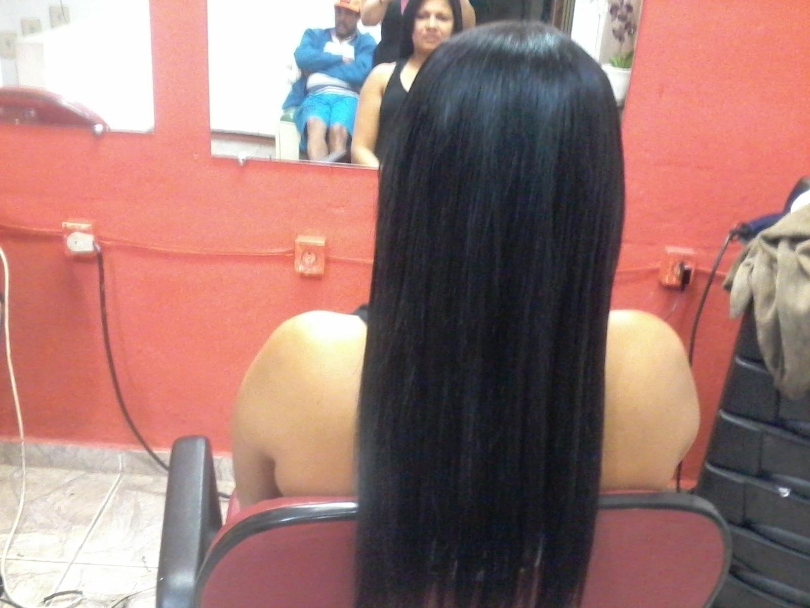 progressiva pronta E alongamento colocado cabeleireiro(a)