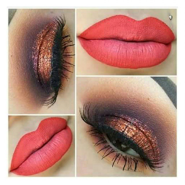 Meu Trabalho makeup Cores quentes maquiagem designer de sobrancelhas micropigmentador(a) maquiador(a) caixa