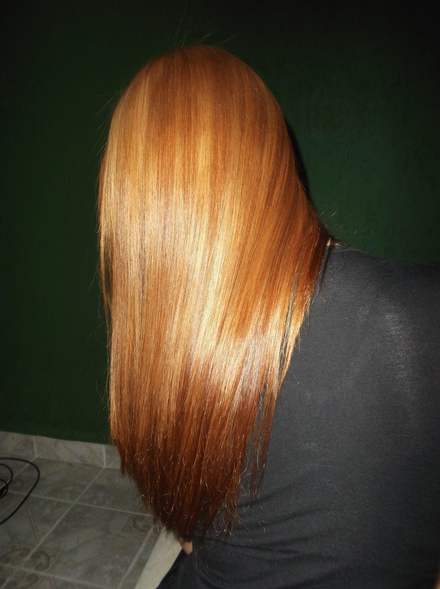 coloração e Escova cabeleireiro(a)