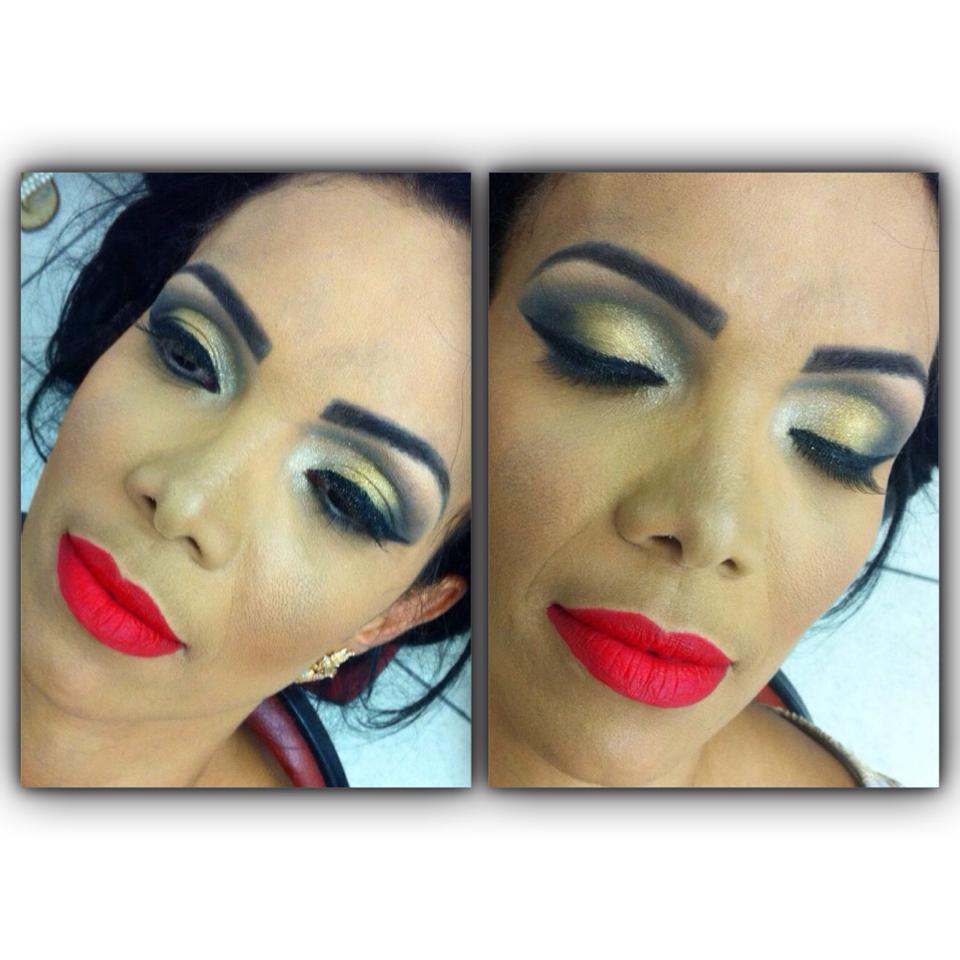 MAKE UP DE ARRAZAR! ;) cabeleireiro(a) designer de sobrancelhas maquiador(a) depilador(a)