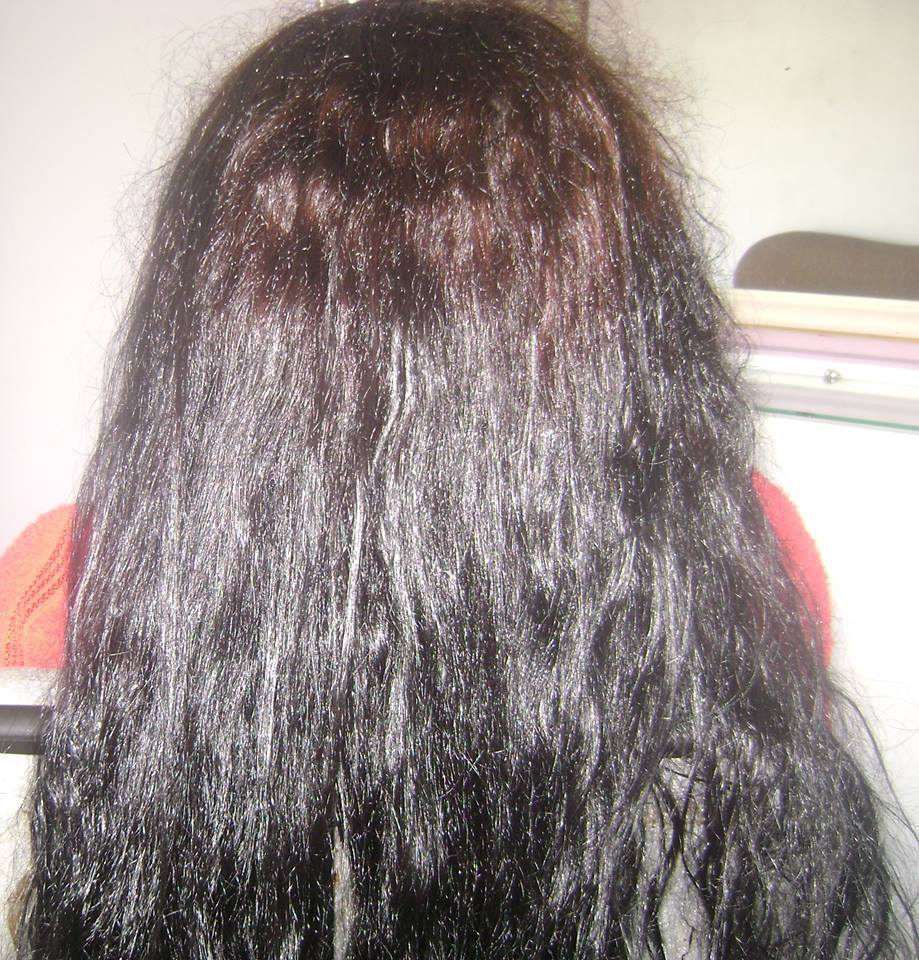 Escova Marroquina antes cabeleireiro(a)