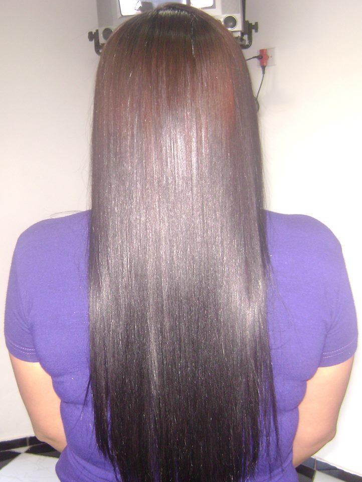Escova Marroquina depois cabeleireiro(a)