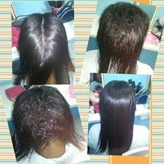 Escova Progressiva.  Cabelo já lavado seco apenas com o jato quente do secador, sem escova. cabeleireiro(a) auxiliar cabeleireiro(a)