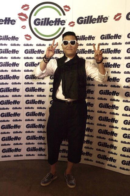 Psy - entrevista para o Programa da Record maquiador(a)