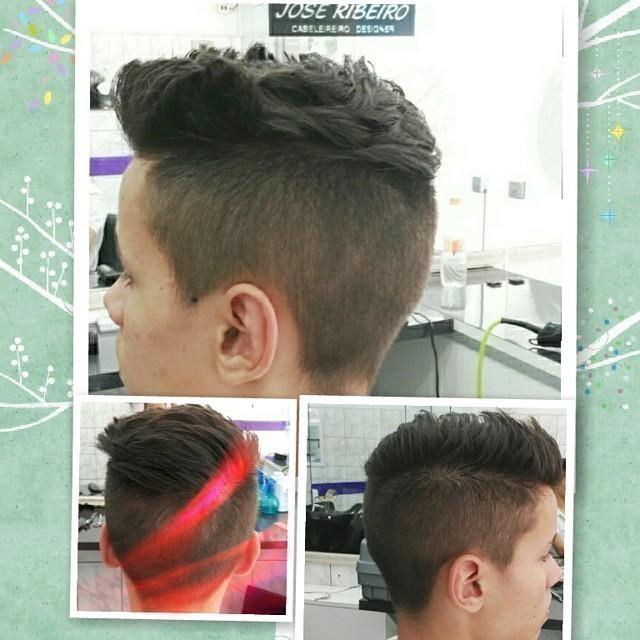Corte ASSIMÉTRICO cabeleireiro(a)