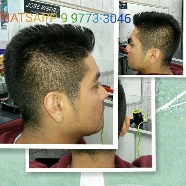 Corte SIMÉTRICO desfiado  cabeleireiro(a)