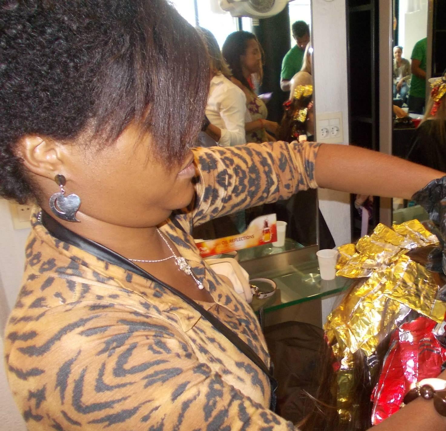 criando trablhando tecnicas artisitcas cabeleireiro(a)