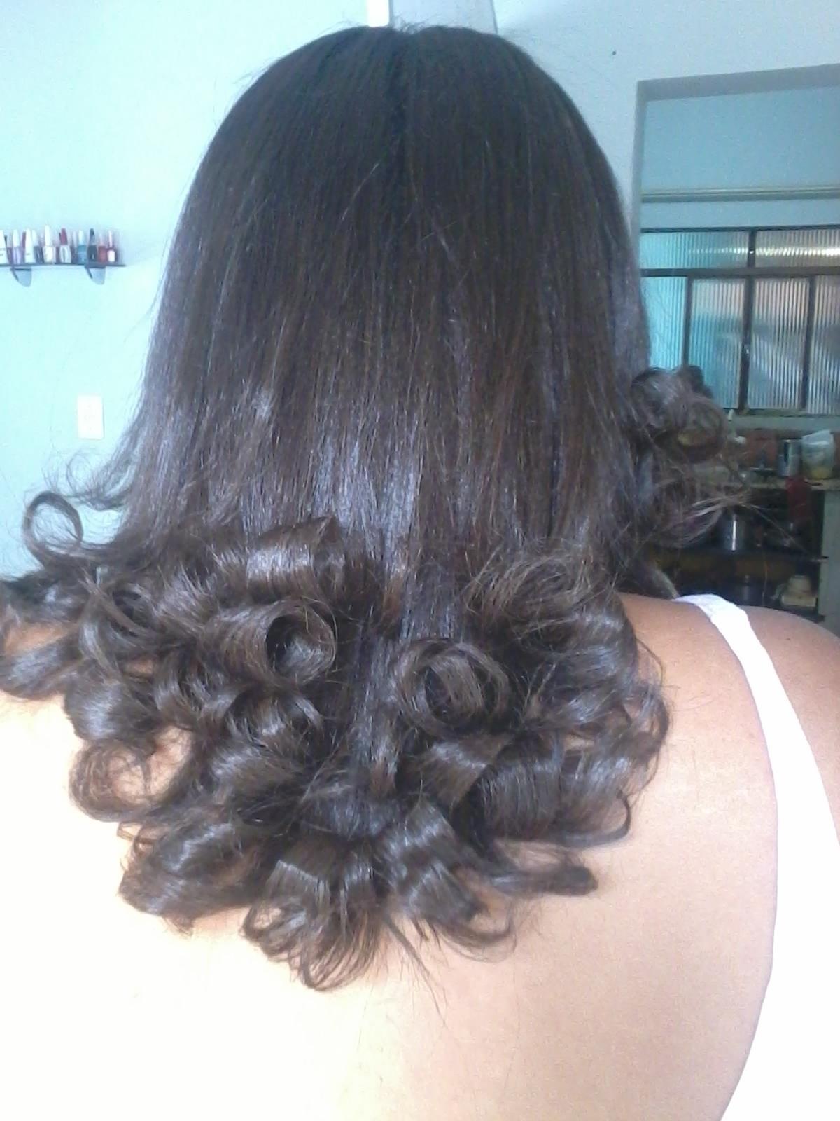 escova cacheada cabeleireiro(a)
