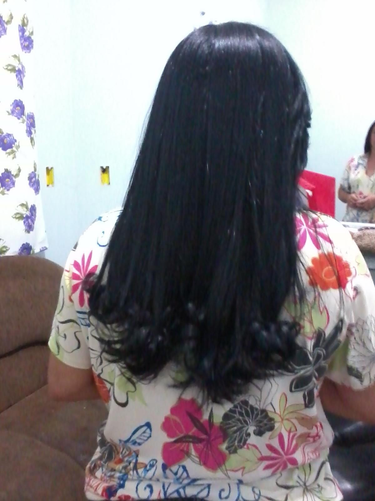 escovação e corte cabeleireiro(a)