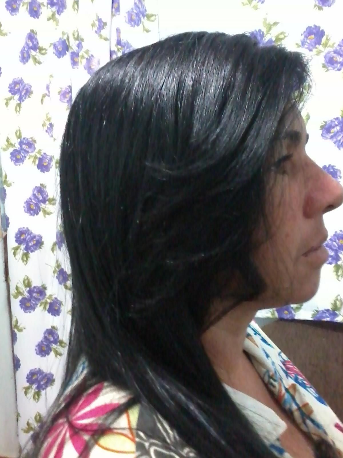 franja em 3d cabeleireiro(a)