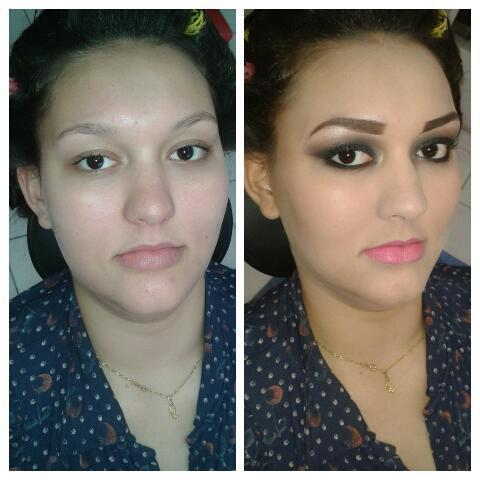 Maquiagens maquiador(a) secretário(a) recepcionista