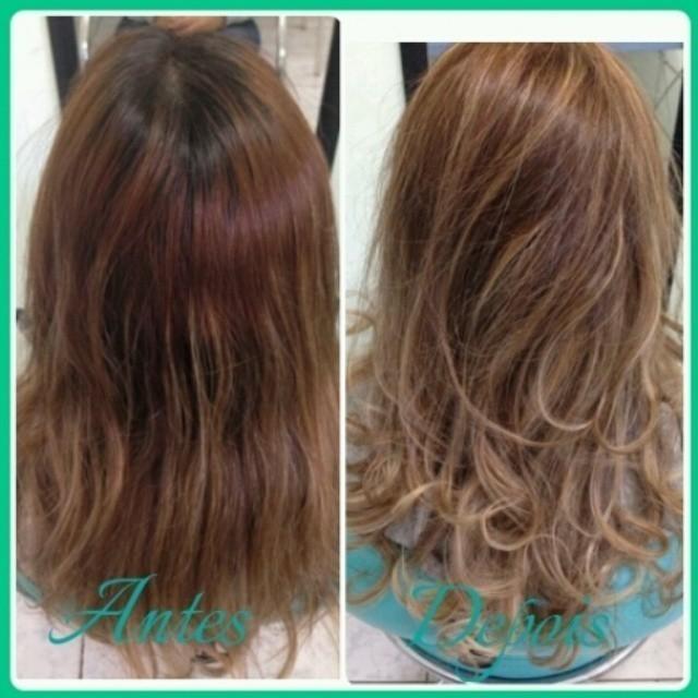 Correção da cor cabeleireiro(a) cosmetólogo(a) esteticista