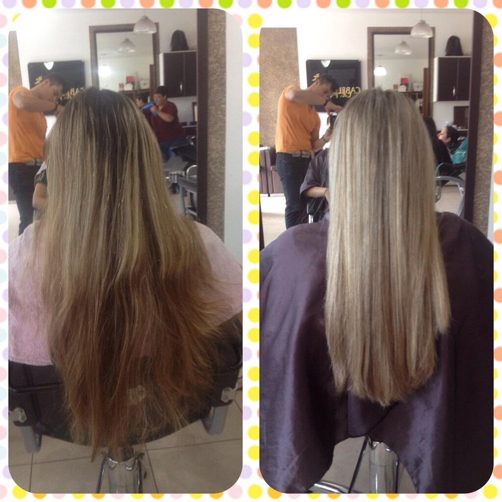 Correção de cor com mechas no papel cabelo cabeleireiro(a)