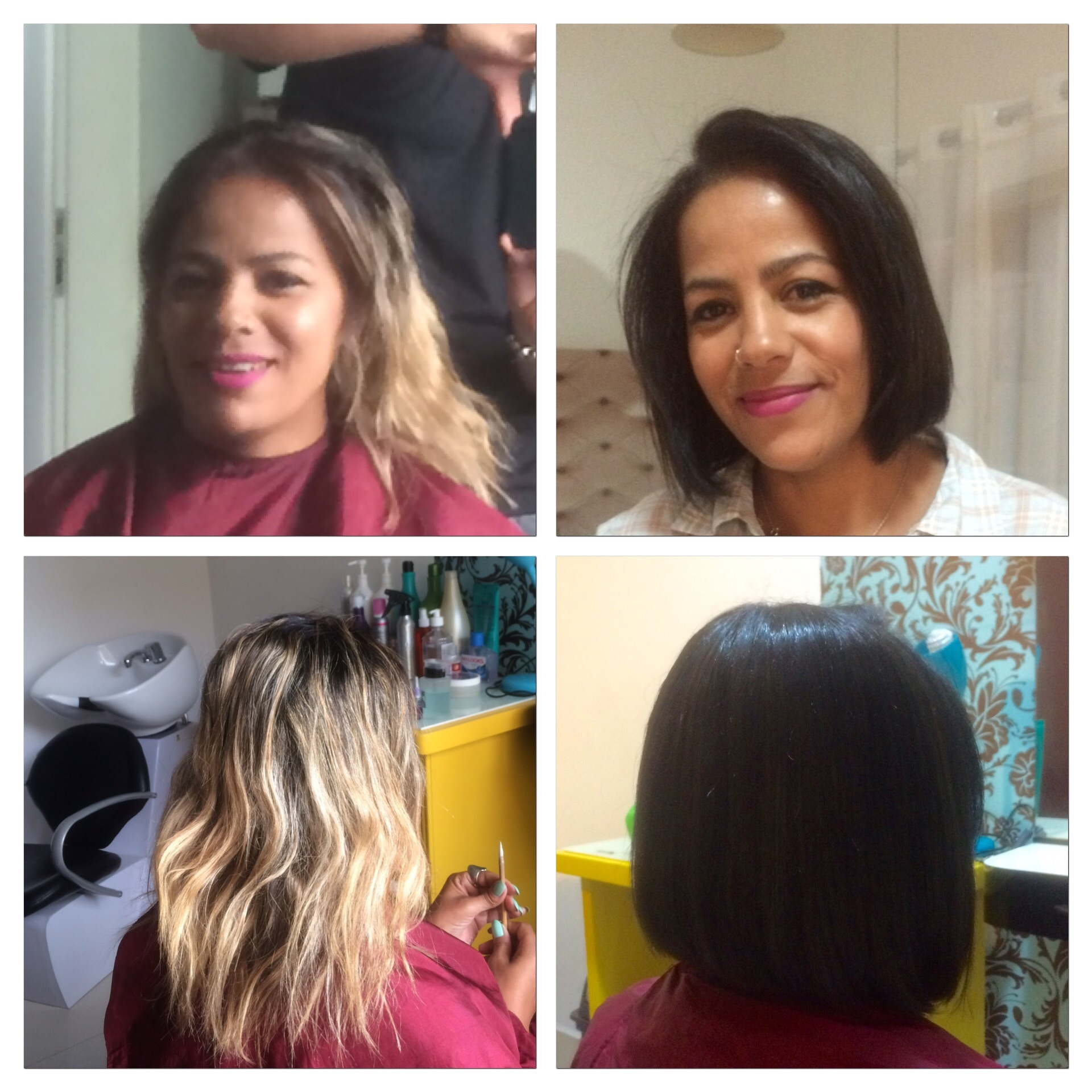 Correção de cor e corte cabeleireiro(a)