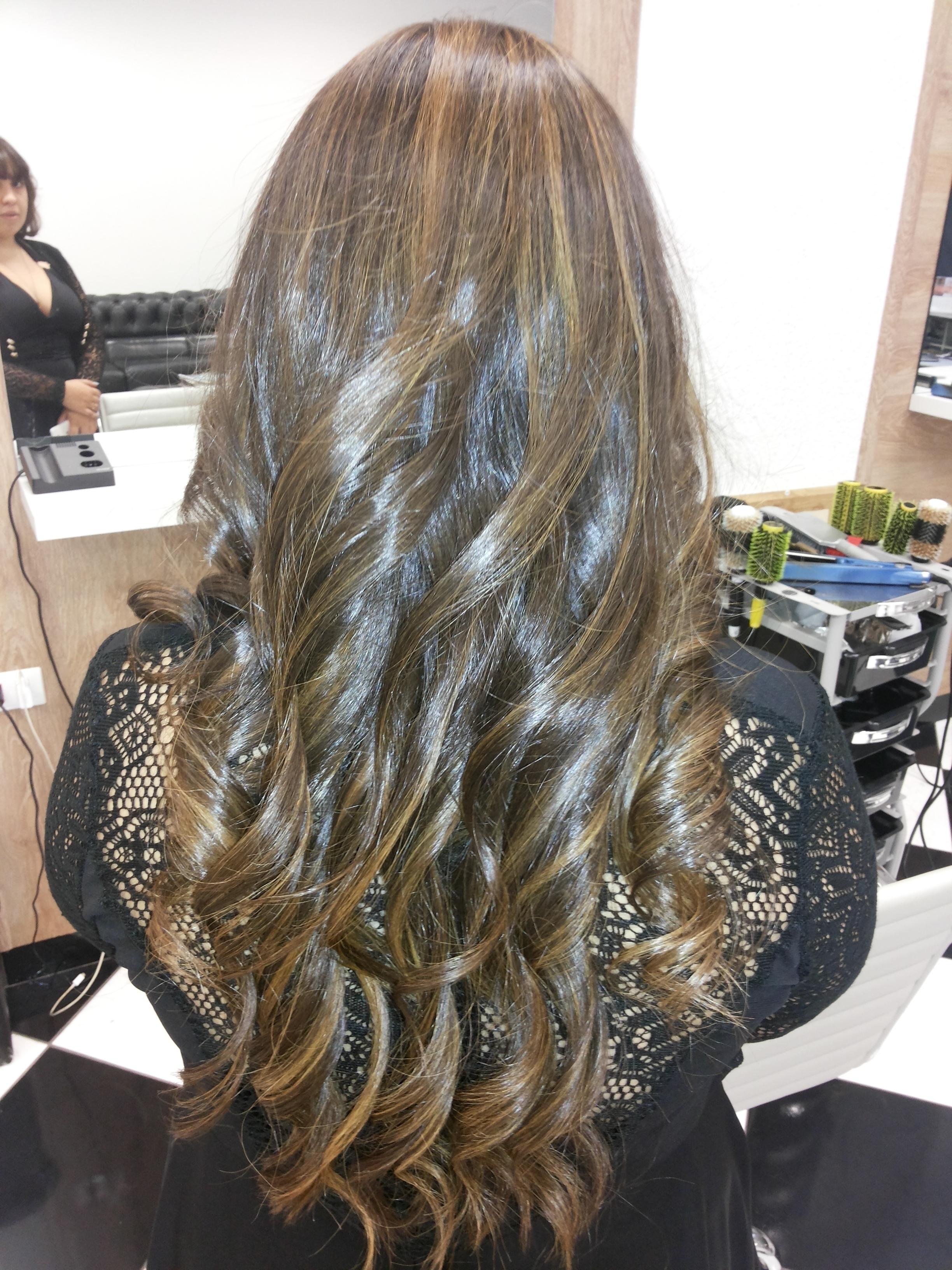 Ombre hair  cabeleireiro(a)