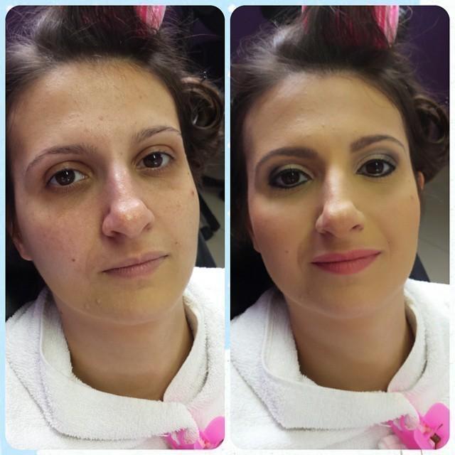 Antes e depois  Madrinha  maquiador(a)