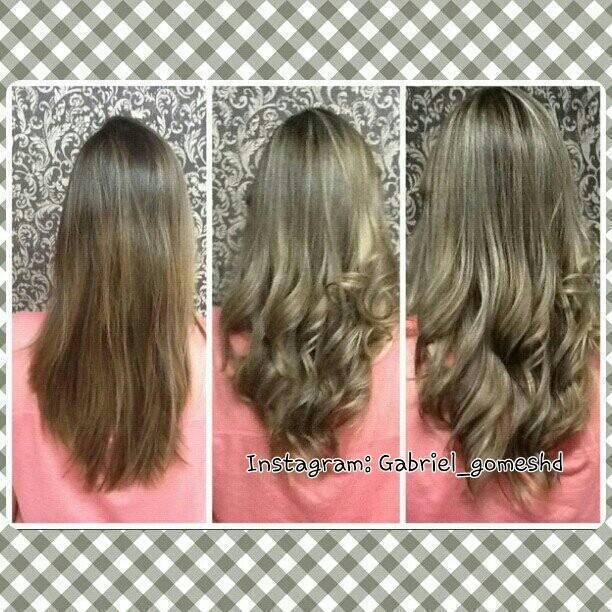 Serviço de mechas, modelagem e corte! cabeleireiro(a)