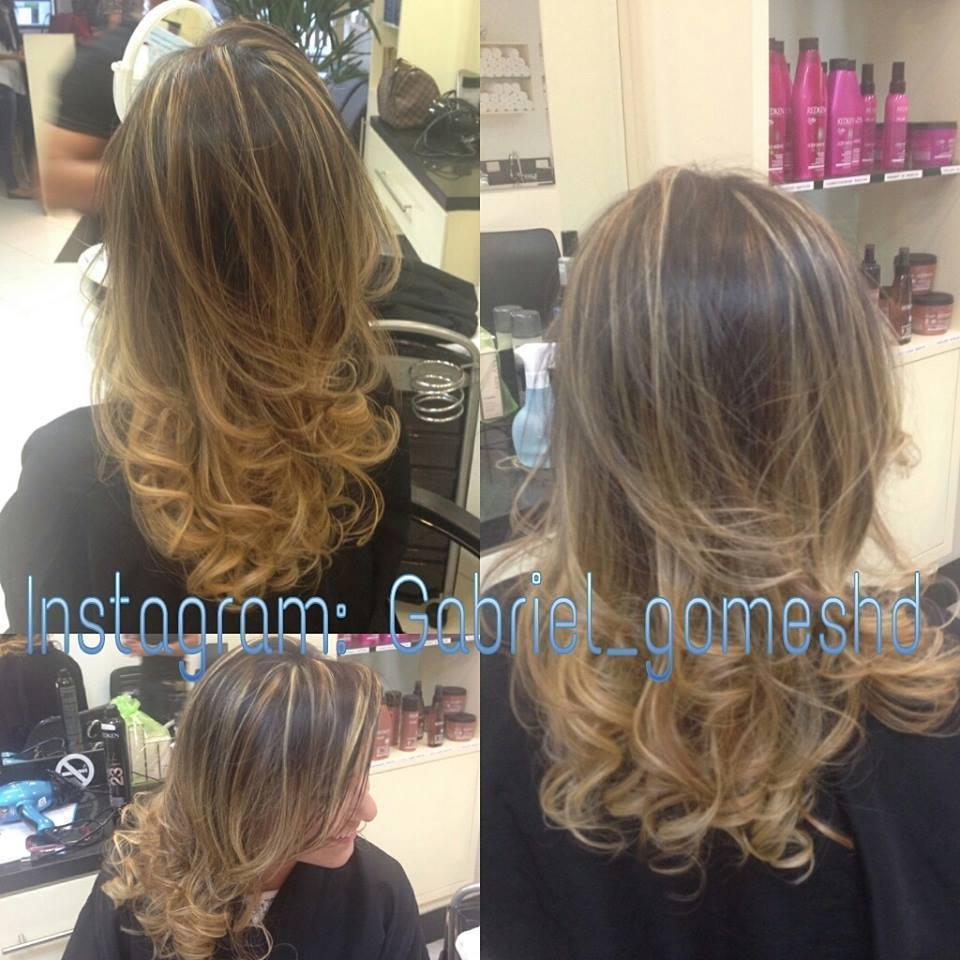 Mechas Ombré Hair  cabeleireiro(a)
